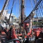 In Captain Cook Vessel
