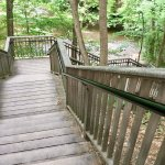 Stairs on the Geyser Creek Trail