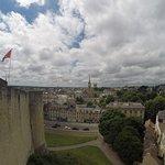 Castle in the center of Caen
