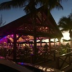 My Bar, the islands favorite place to watch the sun set