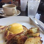 Eggs Benedict served unfunky