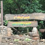 Foxfire Mountain sign