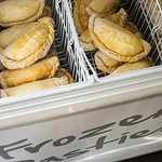 Our delicious pasties are also available frozen