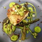 Cod, peas & asparagus