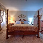 We've renovated the Parlor Suite with a King size bed  and electric fireplace. lor Suite