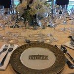 presidental dinner table