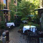 Outside dining available throughout the spring, summer and fall season
