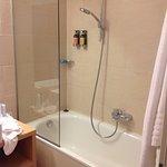 Poorly designed shower
