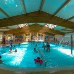 Palmyre camping Les Sables de Cordouan - Espace Aquatique - Toboggas 8m + Piscine couverte chauf