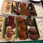 Mixed meat meze