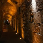 tunnel of Western Wall