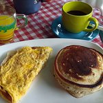 Omelette and Pancakes