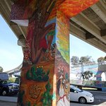 Chicano Park - where we saw some amazing murals.