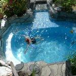 Small hotel pool