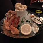 Great sea food platter (shared starter)