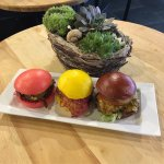 Special Bao Burgers for Belgium's national day.