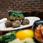 Keftedes Greek meatballs