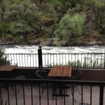 River view from the restaurant at Yosemite View Lodge