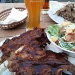 Ribs & Apricot Wheat beer