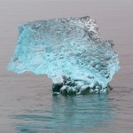 A chunk of beauty the glacier cast off...