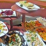 Le buffet .......délicieux et varié