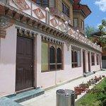 Main buiolding of Galing Resort