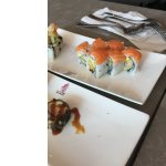 Red Dragon Roll and Vegas Roll
