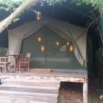 One of the guest tents