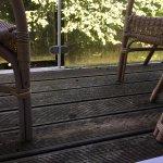 private balcony- So dirty!!