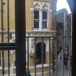 View towards Bridget Jones' flat
