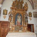 Altare laterale già presso il castello di Andraz