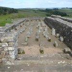 Remains of a granary store at Vindolanda