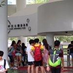 queue for indoor swimming pool.