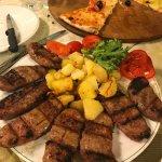 Homemade sausage platter - tasty.