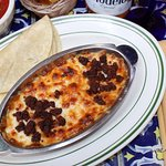 Baked Cheese with Mexican Chorizo