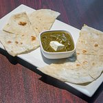 Saag Palak - One of the speciality of Grill Kabab
