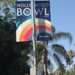 The walk to the Hollywood Bowl