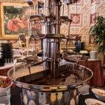 A decadent fountain