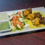 Lamb and Chicken Kabab