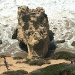 Dragon's head rock formation