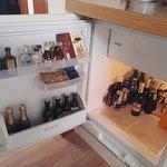 Bar in fridge
