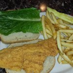 Jack Salmon (actually cod) and fries - all breading, very little fish