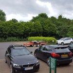 plenty of room in the car park