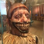 Twisty the Clown mask and wig - so real and creepy!