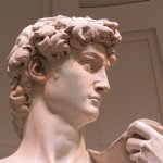 The remarkable statue of David
