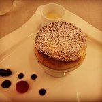 Grand Marnier Souffle at Piaf Restaurant at the hotel