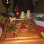 Tapas españolas guisadas por Chef Alfredo Luna en Don Quijote, delicioso y muy elegante restaura
