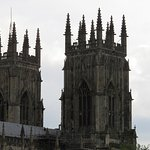 The Minster, from the wall.