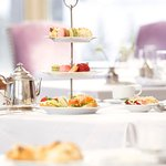 Afternoon Tea at Fairmont Banff Springs