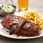MESQUITE-GRILLED BABY BACK RIBS